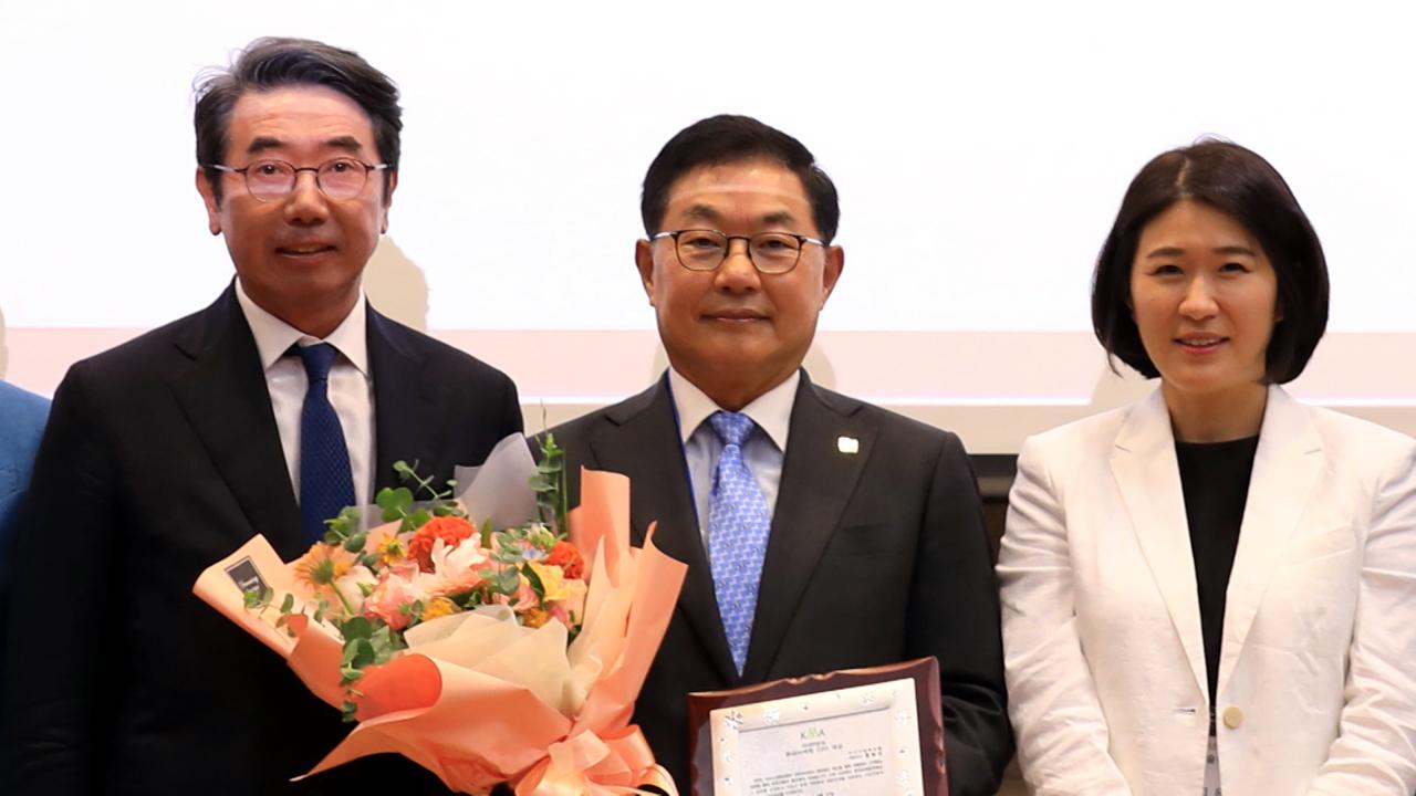 [기업] 라이나생명 홍봉성 사장, '대한민국 CEO대상' 수상