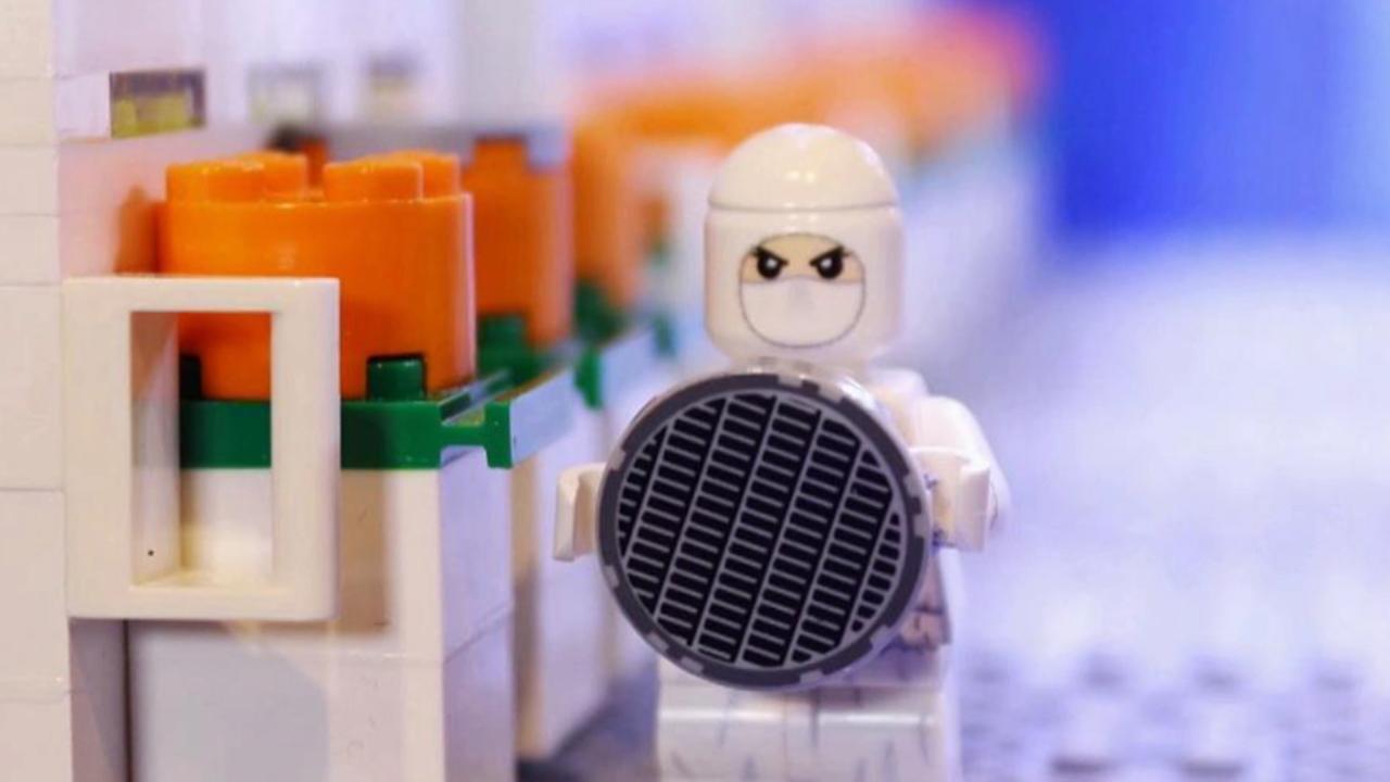 [기업] 삼성전자, 레고 블록으로 반도체 '클린룸' 재현