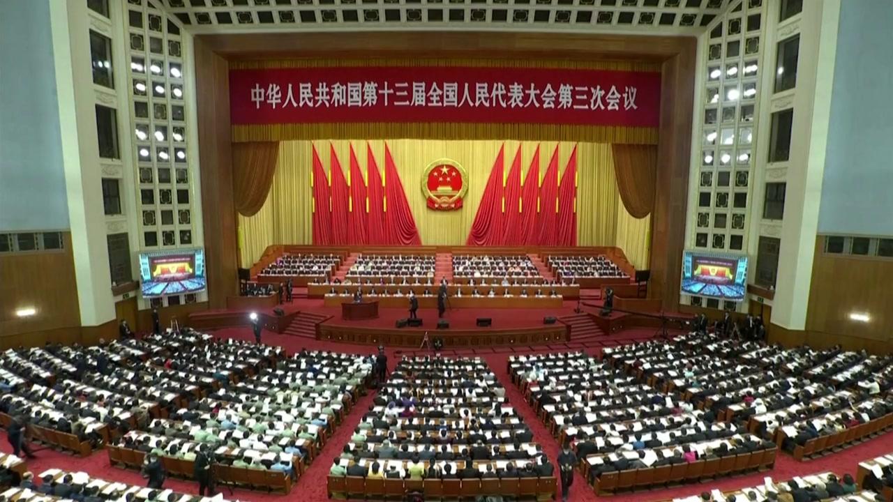 中 홍콩보안법 통과...내일부터 시행