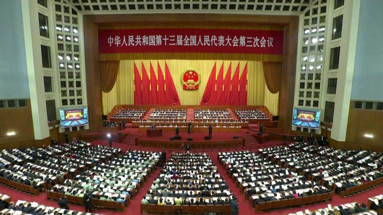 中 홍콩보안법 통과...내일부터 시행될 듯