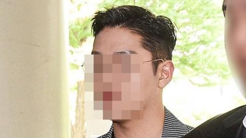 '故구하라 폭행·협박 혐의' 전 남친, 징역 1년 법정구속