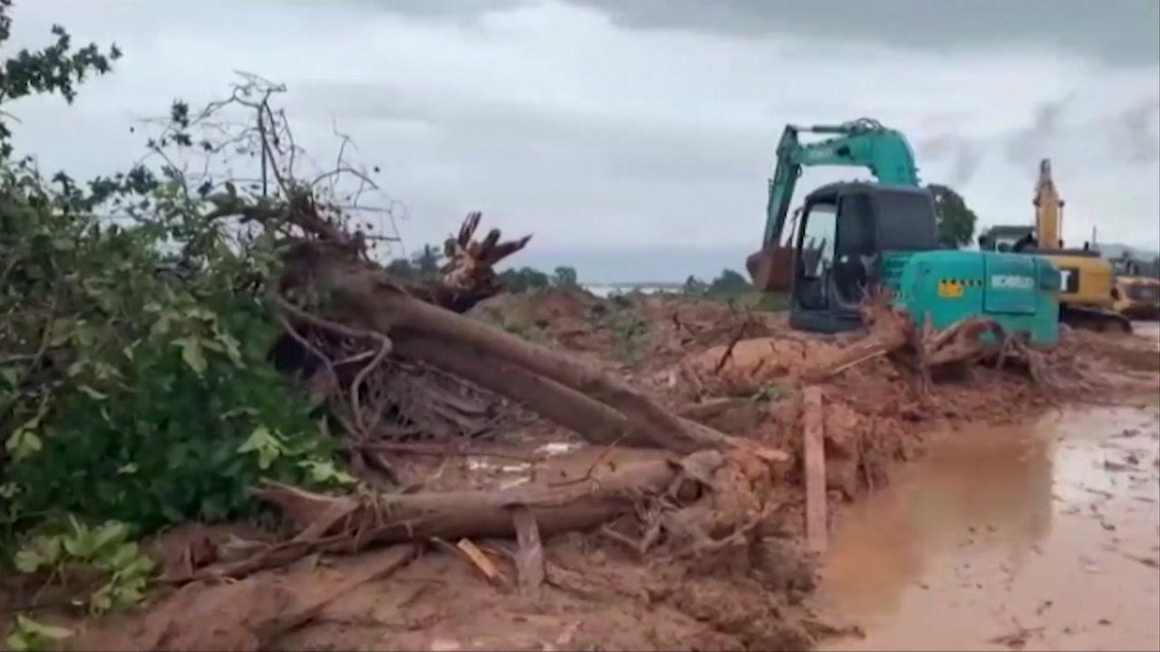 미얀마 옥 광산 산사태 발생 100명 이상 숨져