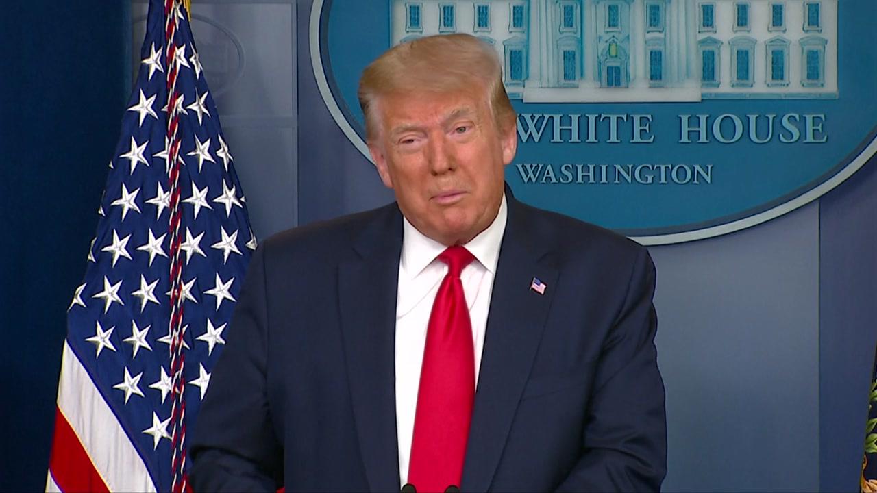 """트럼프, 美 일자리 증가에 """"경제 다시 살아나고 있어"""""""