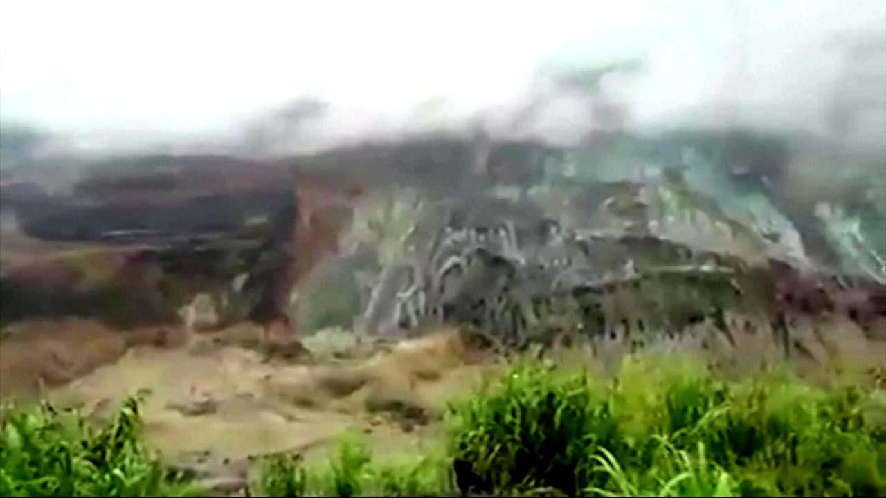 미얀마 옥 광산 산사태로 광부 160여 명 사망