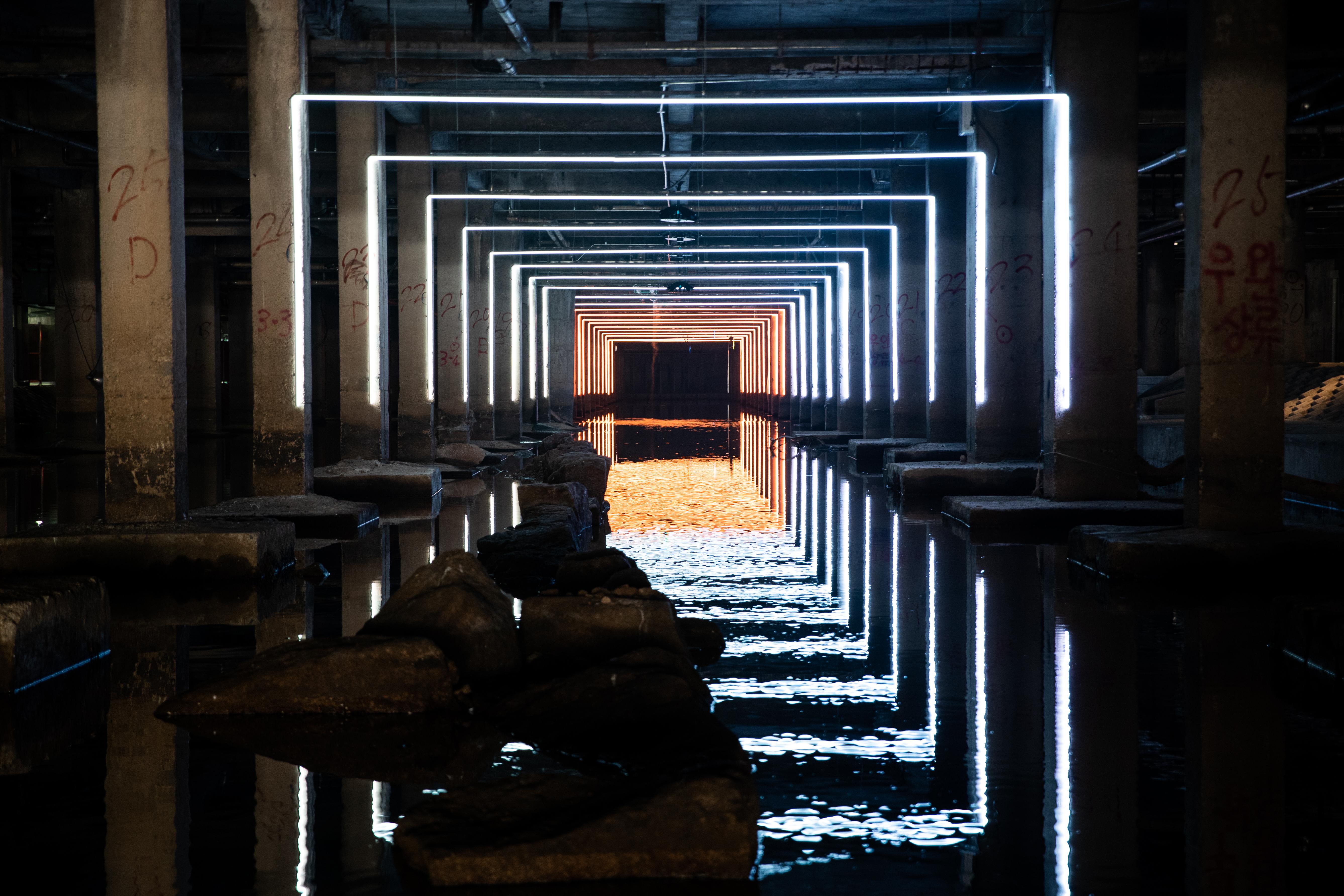 〔ANN의 뉴스 포커스〕 버려진 대전차 방호기지가 빛의 예술길로 새롭게 변화