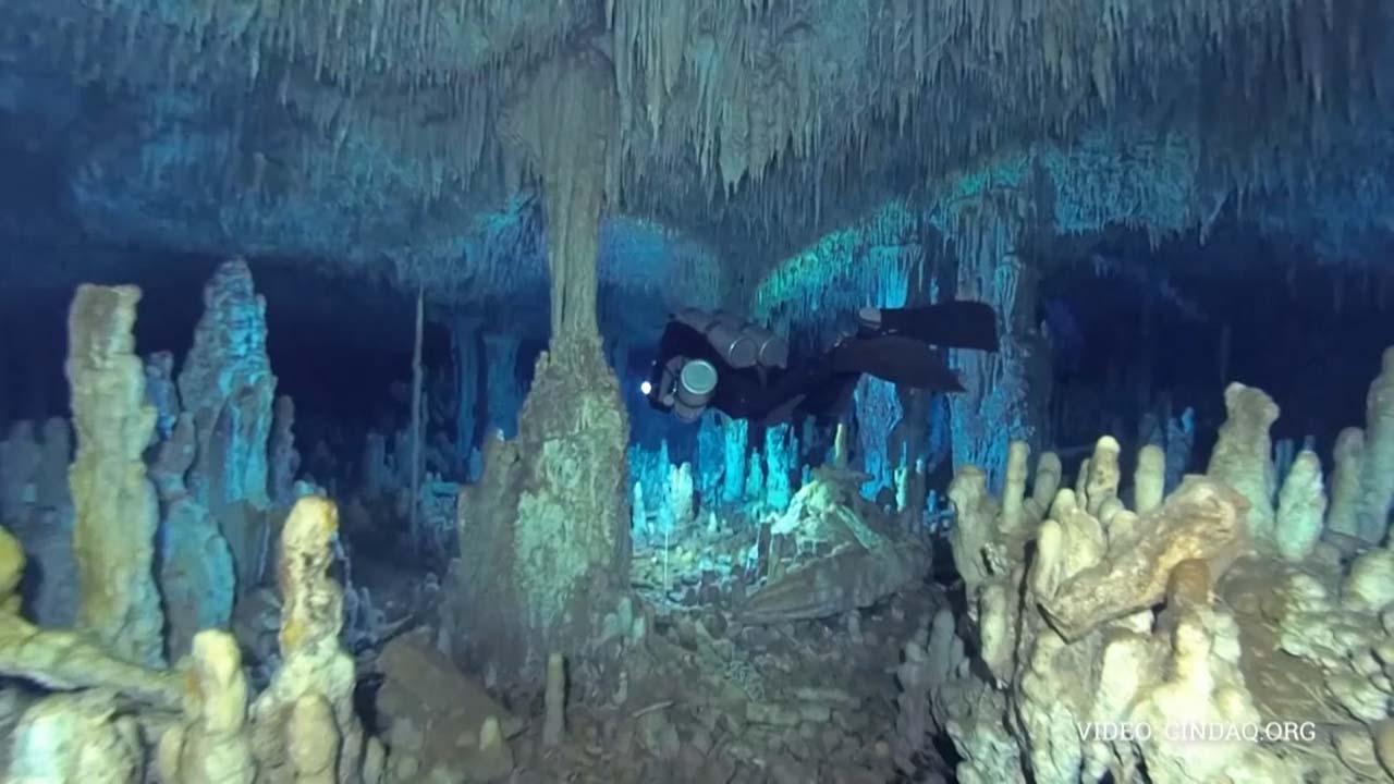 멕시코 수중동굴서 1만2천 년 전 광산 흔적 발견