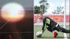 훈련 도중 벼락 맞은 러시아 10대 축구선수 '혼절'