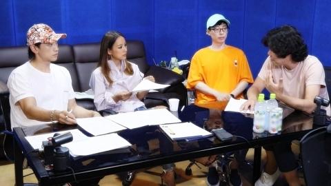 '놀면 뭐하니' 싹쓰리, 첫 녹음 현장 공개