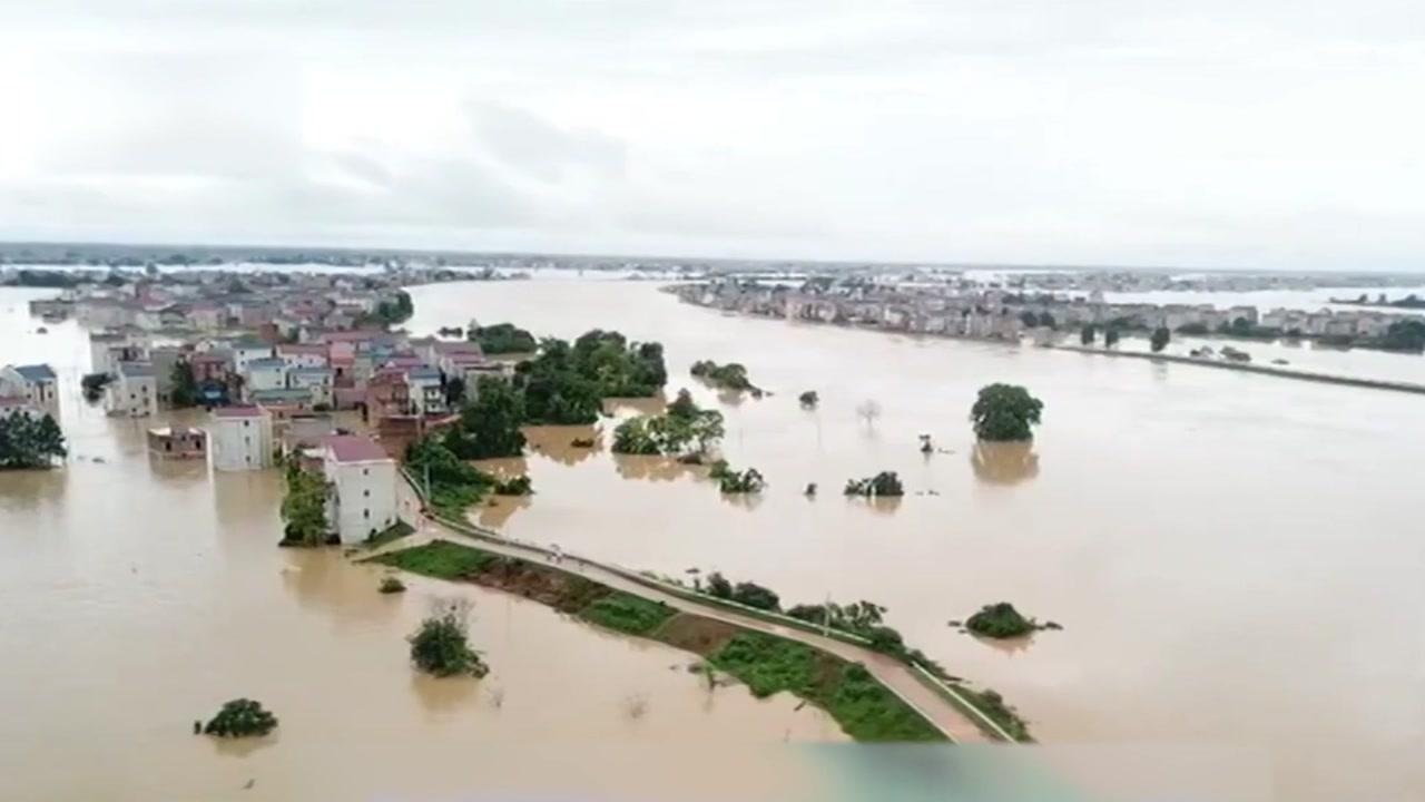 중국 홍수 곳곳 범람...장시성 '전시 상태' 선언