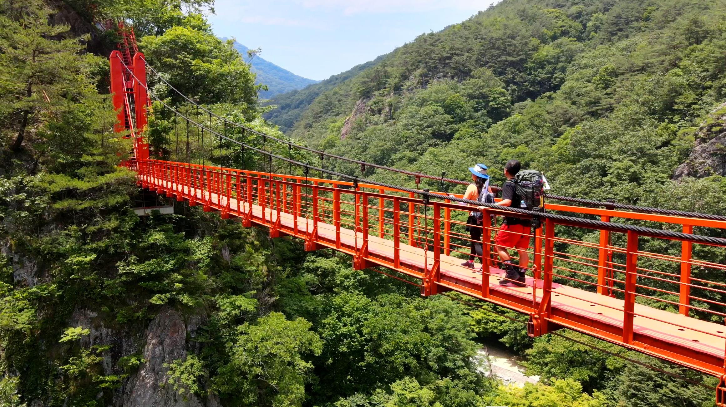 [추천! 주말여행] 우리 나라 최초의 군립공원 전북 순창 '강천산'