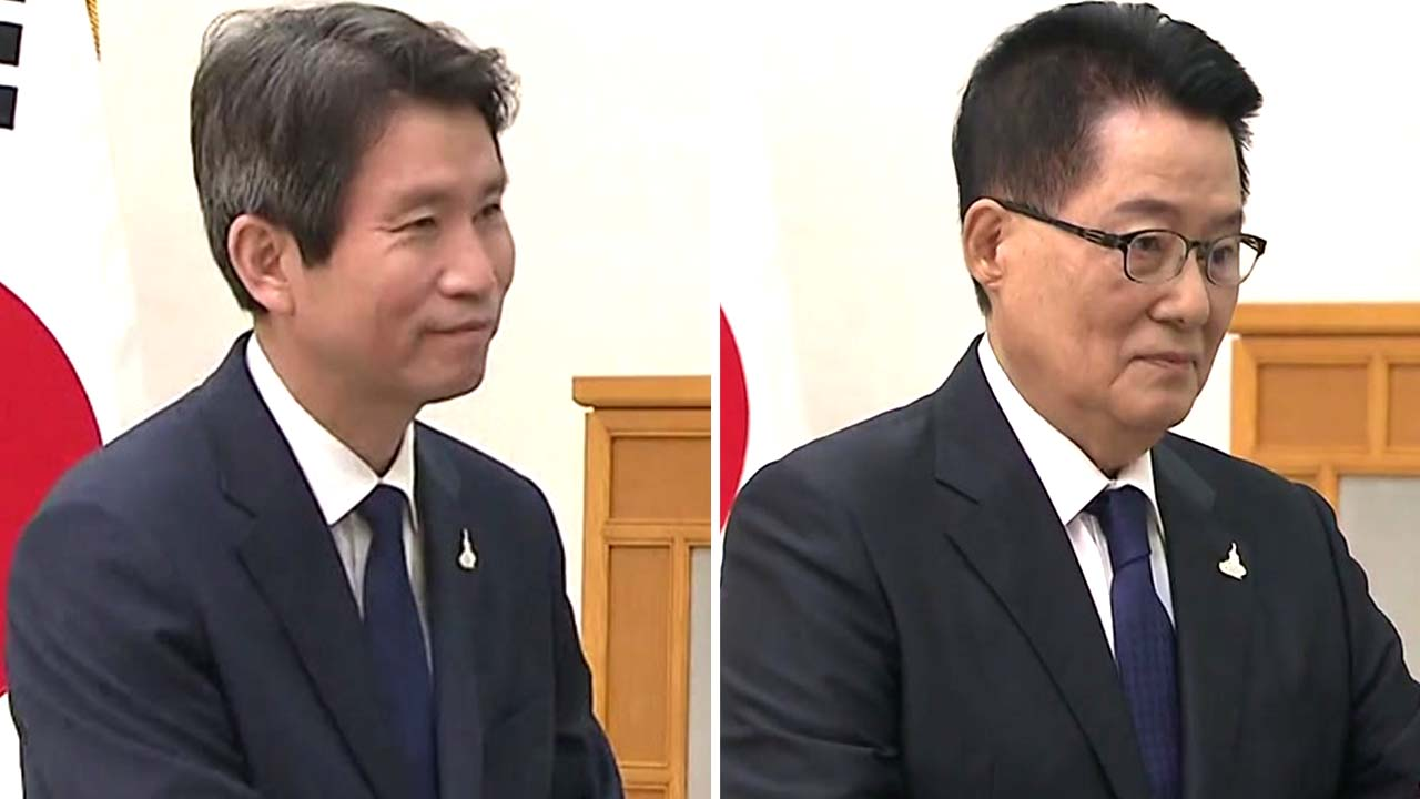 """이인영·박지원 공식 업무 시작...임종석 """"남북 스스로 협력"""""""