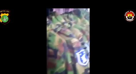 자카르타 세탁소 영상서 발견된 한국 군복?...유포범 체포