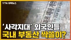 [자막뉴스] 규제 강화되는 사이...국내 부동산 뛰어든 외국인들
