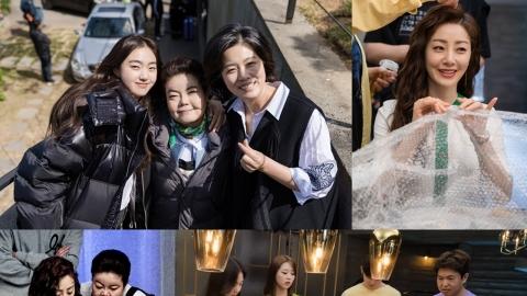 '십시일반' 김혜준·오나라, 치열한 두뇌 싸움 뒤 유쾌한 촬영 현장