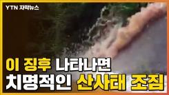 [자막뉴스] 이 징후 나타나면 '산사태' 조짐...즉각 대피해야