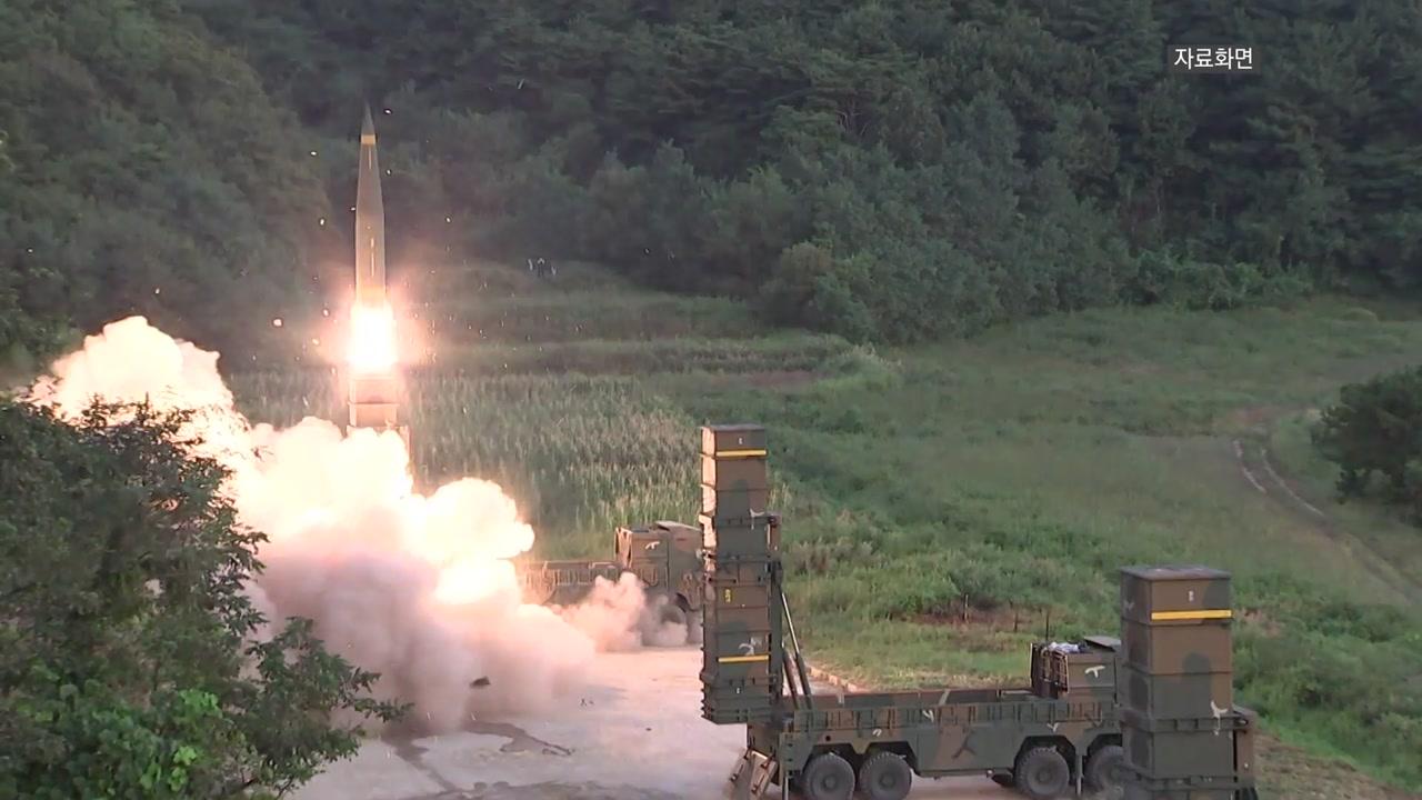 """정경두, '현무-4' 개발 성공 재확인...""""극초음속 미사일 개발"""" 천명"""