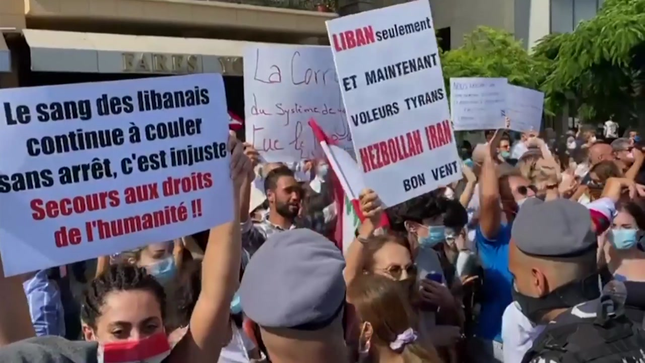 """'폭발참사'에 성난 레바논 국민 """"정권 몰락 도와달라"""""""