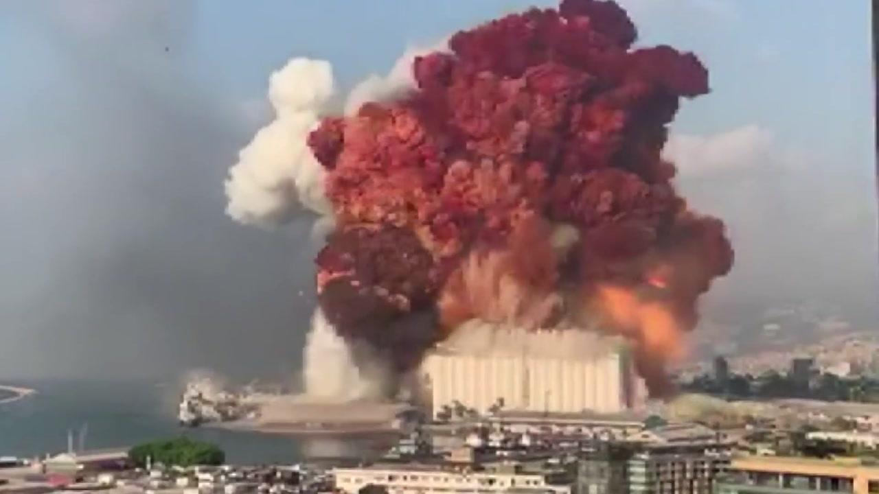 베이루트 폭발에 미사일?…SNS에 조작 영상 퍼져
