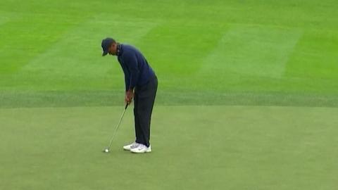 타이거 우즈, PGA 챔피언십 첫날 2언더파