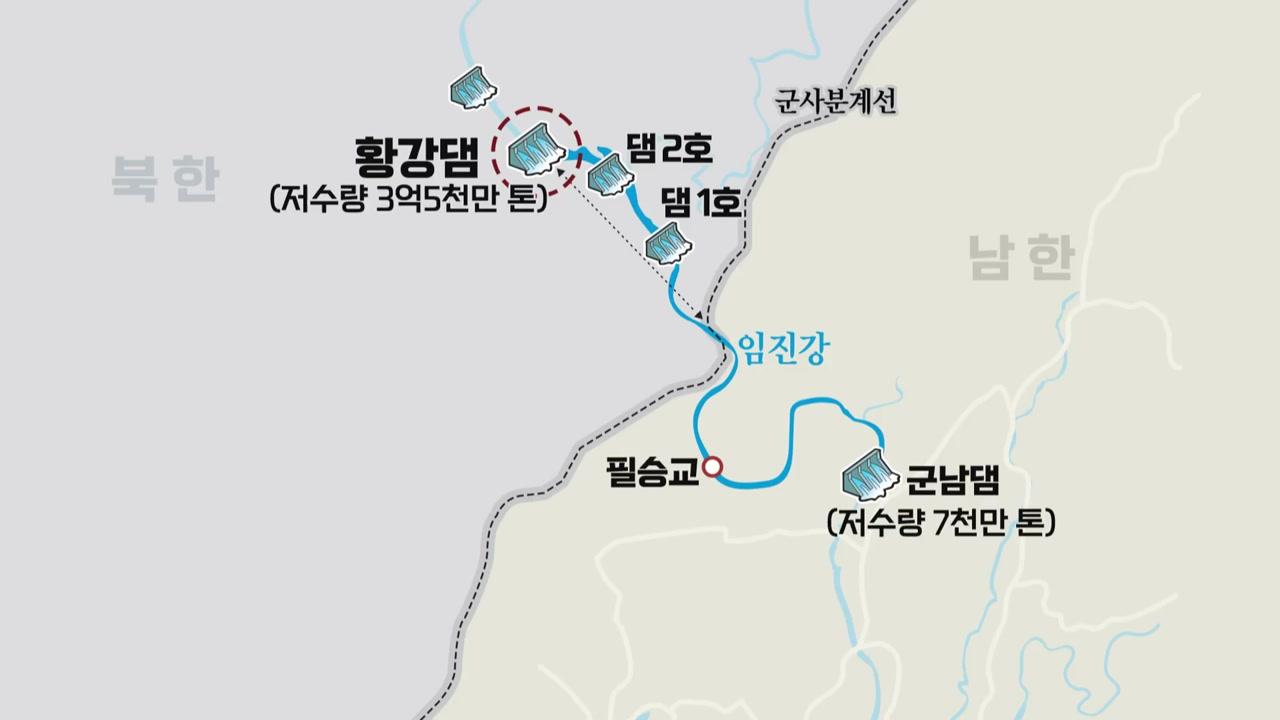 비 예보·북한 무단방류에 떠는 접경지역 주민들