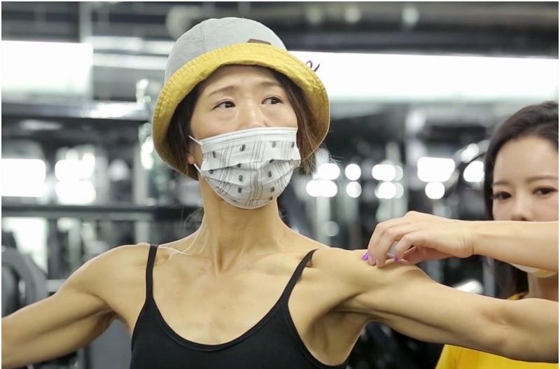 '당나귀 귀' 황석정 50세 머슬퀸 도전기, 9kg 감량 훈련 공개
