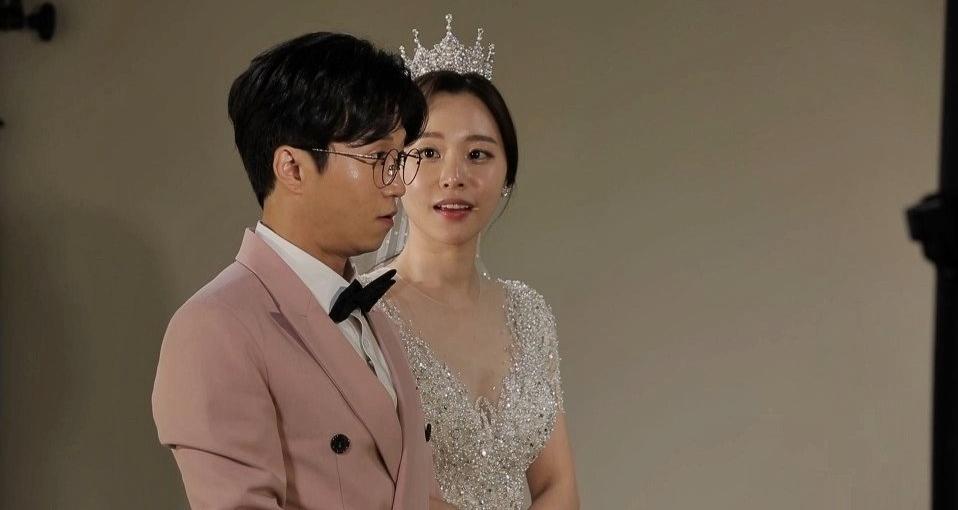 '동상이몽' 박성광♥이솔이 부부, 티격태격 웨딩숍 방문기