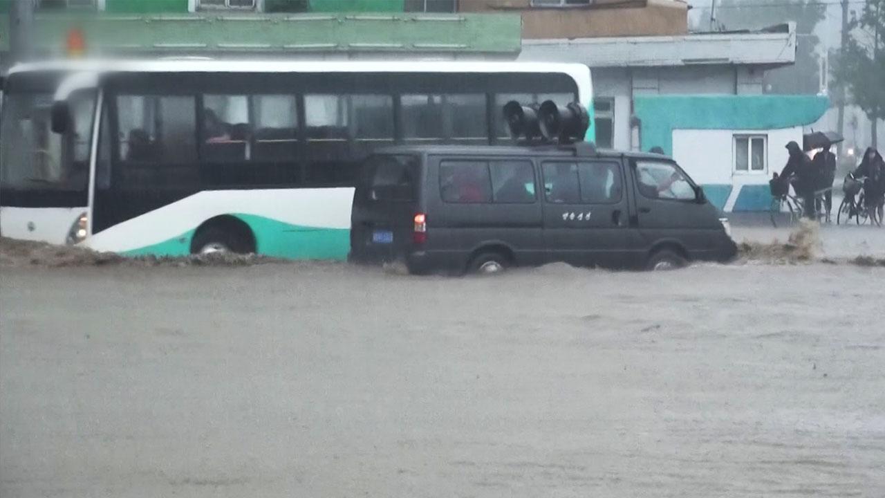 """정부 """"北 호우 상황, 2007년 최악의 홍수 때보다도 높은 수준"""""""