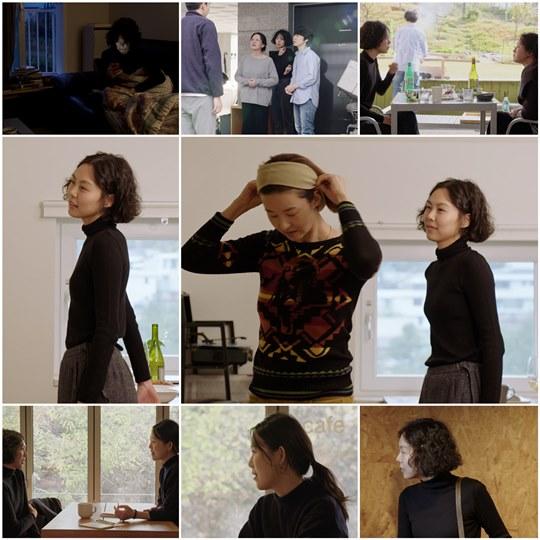 단발머리 김민희 포착...홍상수 감독 '도망친 여자', 보도스틸 공개