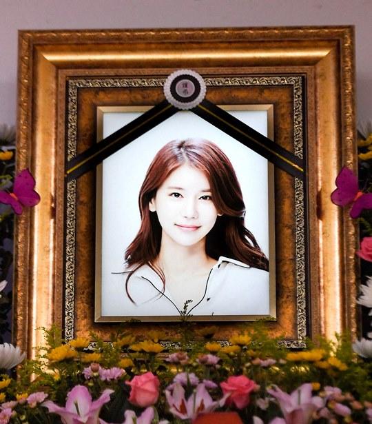 """故 오인혜, 아름다운 미소 남겼다...""""그곳에선 행복하길"""" (종합)"""