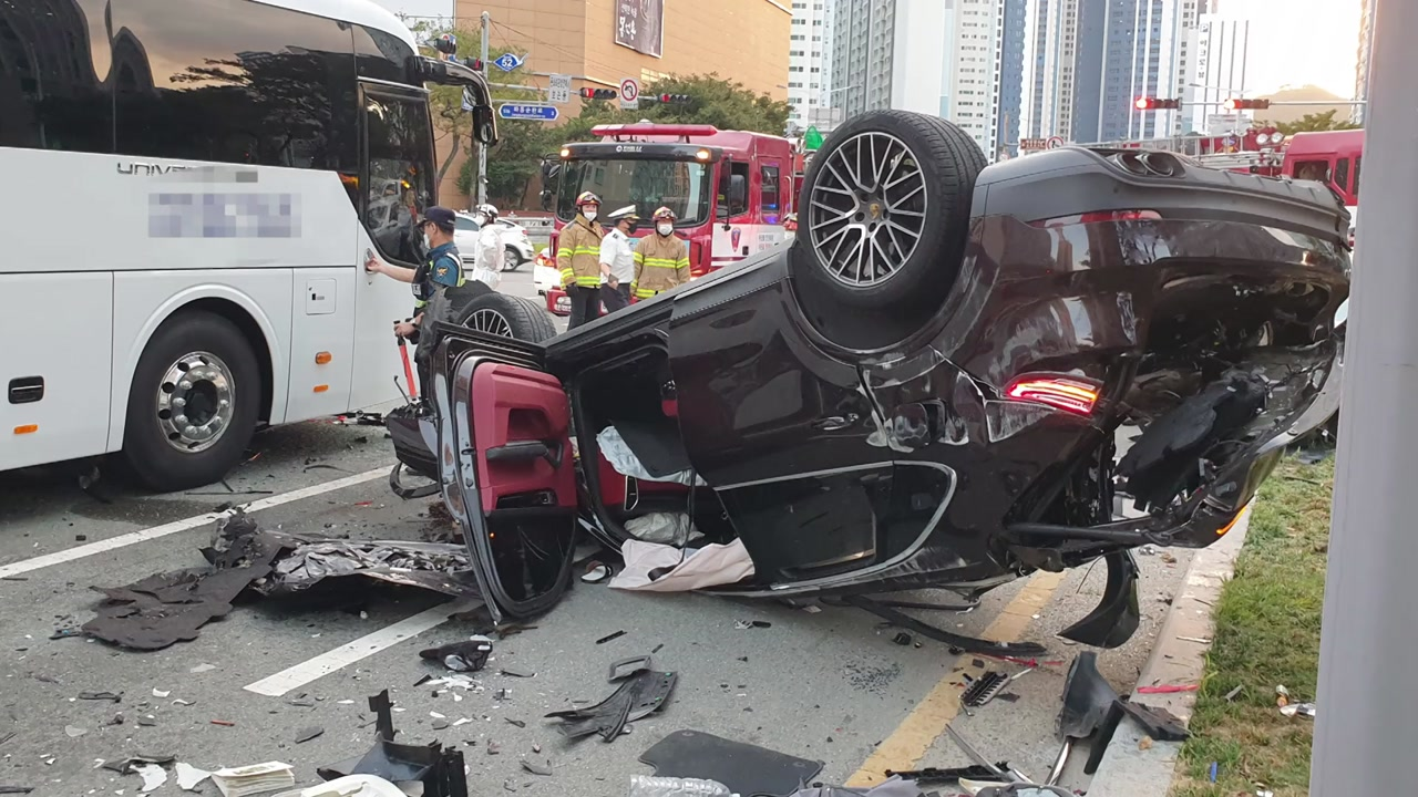 부산 포르쉐 사고, 경찰 조사 결과 드러난 충격적 사실 몇 가지