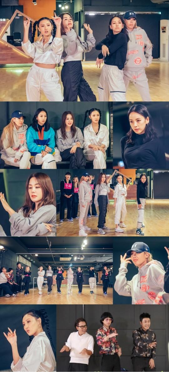 환불원정대, 오늘(17일) '음중'서 데뷔… '돈 터치 미' 무대 공개