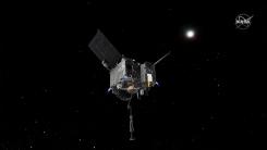 미국 탐사선, 소행성 베누에 내려앉아 토양 샘플 채취