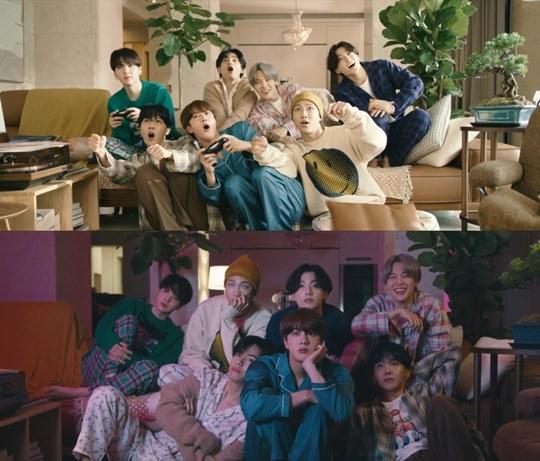 방탄소년단, \'라이프 고즈 온\' MV 공개...따뜻하고 애틋하게
