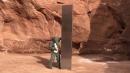 美 사막서 발견된 정체불명 금속 기둥, 갑자기 사라져