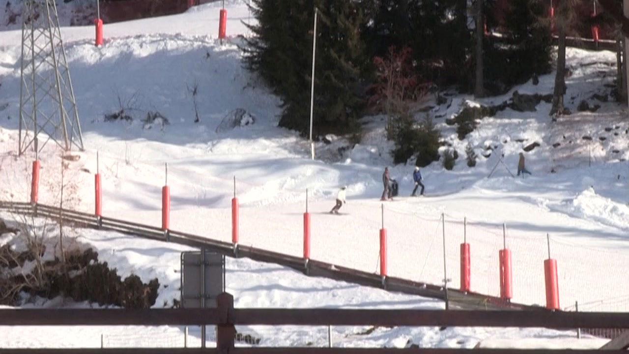 [국제]스위스 스키 리조트에서 200 명 이상의 영국 검역 탈출
