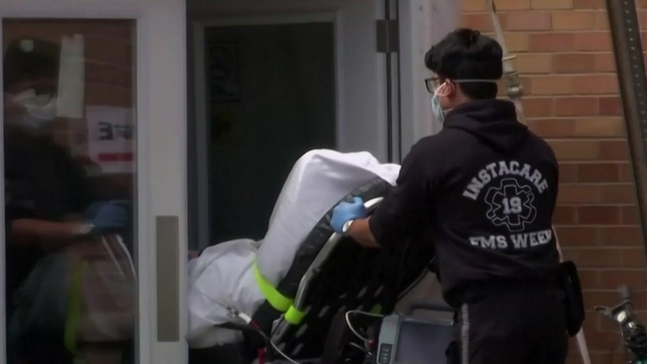 [국제]미국에서 코로나 19 사망 및 입원 환자