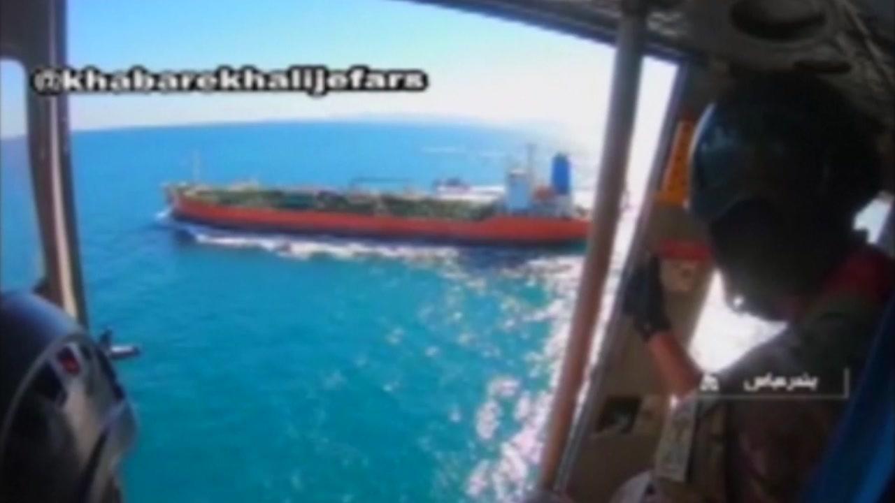 [국제]걸프 해에서이란 혁명 수비대가 압수 한 한국 선박 …