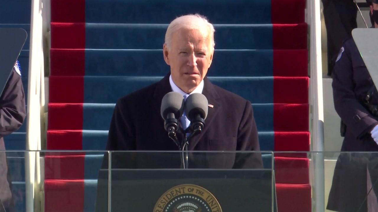 """[국제]미국 Biden 시대 시작 … """"모든 미국인의 대통령"""""""