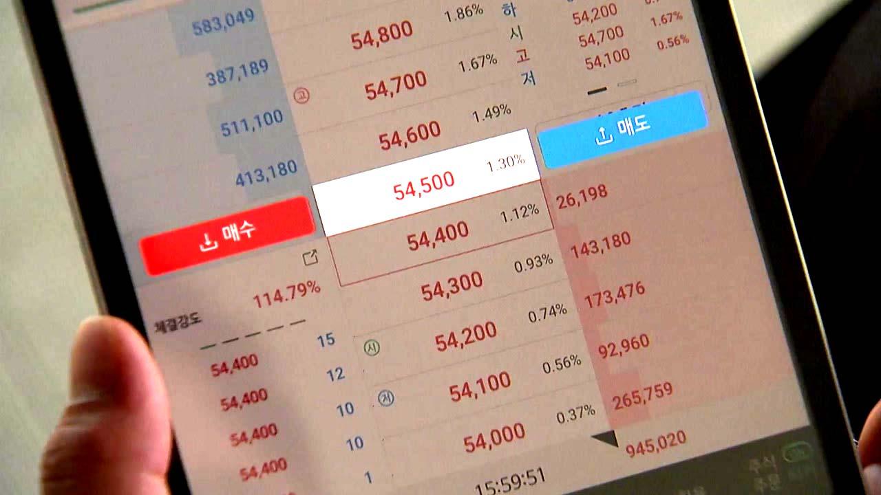 [경제]1 월 26 조 개별 주식 순매수 … 전년 전체의 40 %