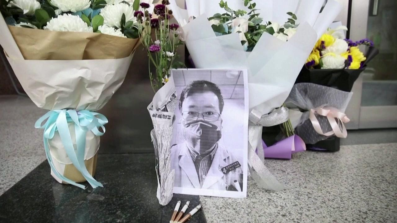 [국제]코로나 19를 위해 세계에 처음으로 발표 된 '리 원량'의 죽음의 첫 사이클 …