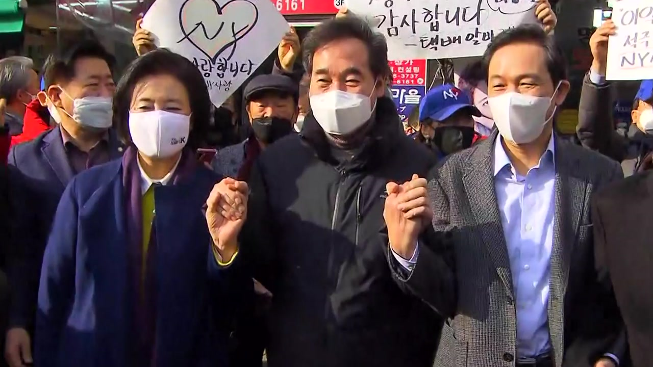 [정치]서울 시장 민주당 후보 '우정 경쟁'… 결승전에서 통할까?