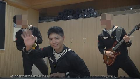 박보검, 해군 의장대 생활 깜짝 공개… '피아노 치는 박보검 일병'