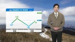 [날씨] 내일 '찬바람 쌩쌩' 영하권 강추위...서해안 폭설
