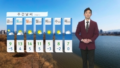 [날씨] 내일도 강추위...체감 온도 영하권