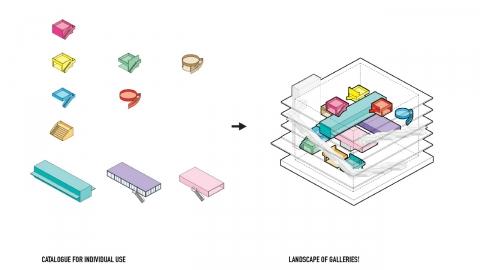 〔안정원의 건축 칼럼〕 테라스와 계단을 통해 엮여진 역동적 순환성과 유연성