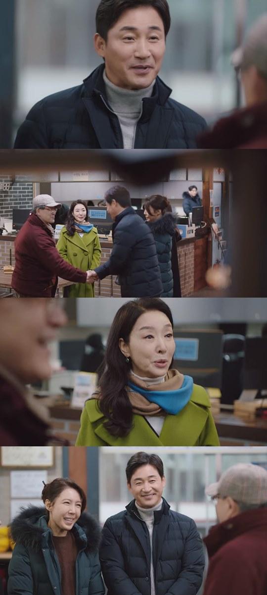 "[Y이슈] ""인상 좋으시네요""...'결사곡' 김보연X전노민, 이혼 후 투샷"