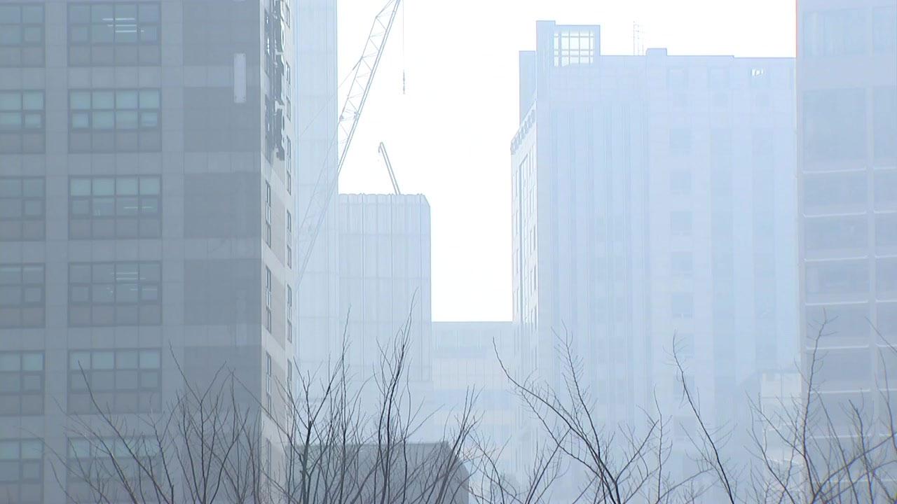 [기상센터][날씨]    비와 미세 먼지가 정체 … 주말은 어때?