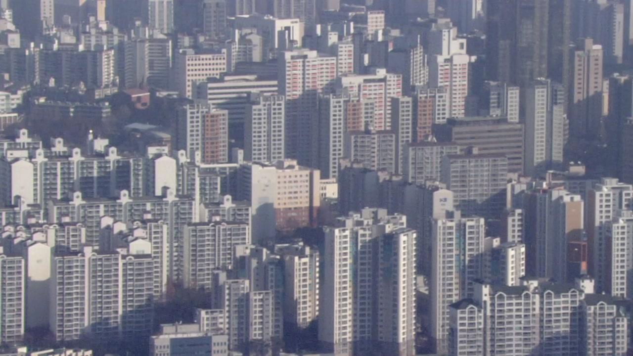[경제]서울 아파트 가격 하락 … 일부 단지 실거래가 하락