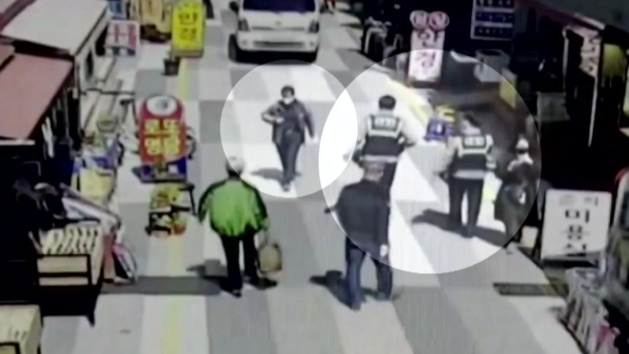 [전국]'수상한 기분'을 느꼈던 경찰 추격전 … 살인 용의자 체포