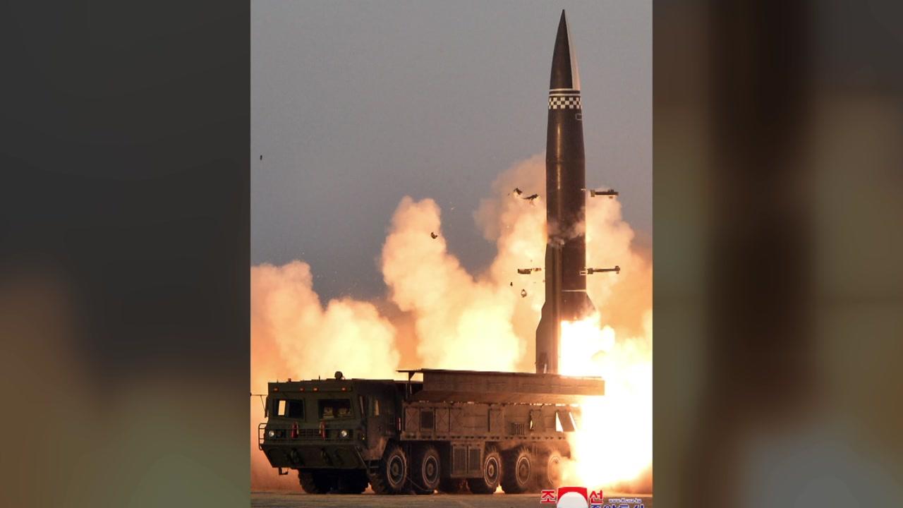 """[정치]북한 """"미사일 발사에 대한 자위권 … 바이든의 발언은 도발적이다"""""""